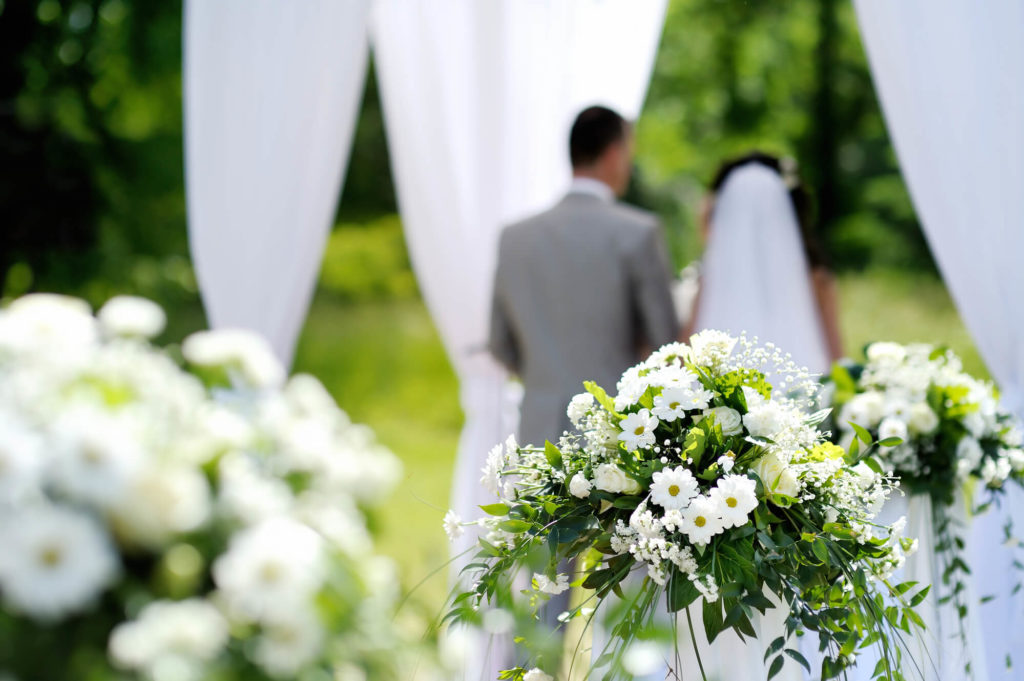 decorar casamento simples