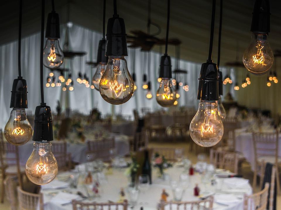 iluminação decorar casamento