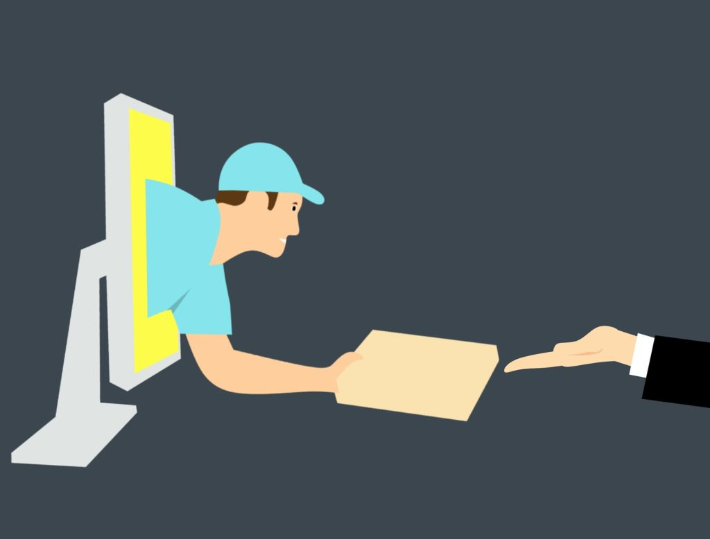 mercado de delivery online