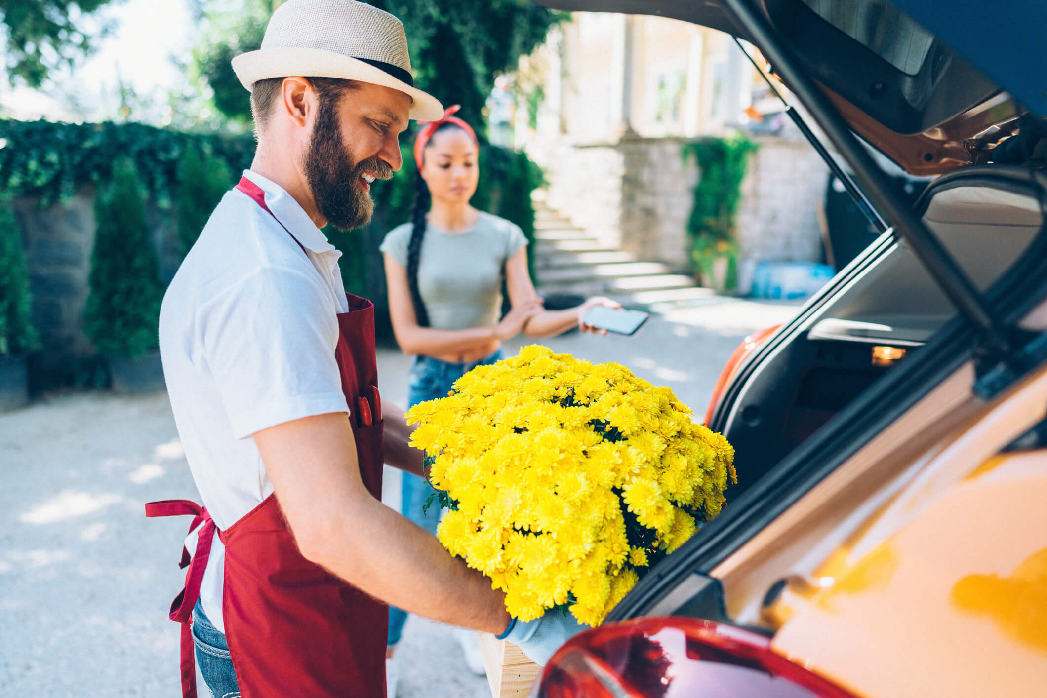 entrega de flores em BH