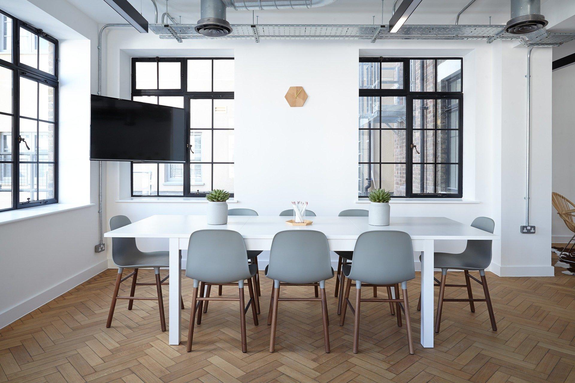 decoração de ambientes corporativos