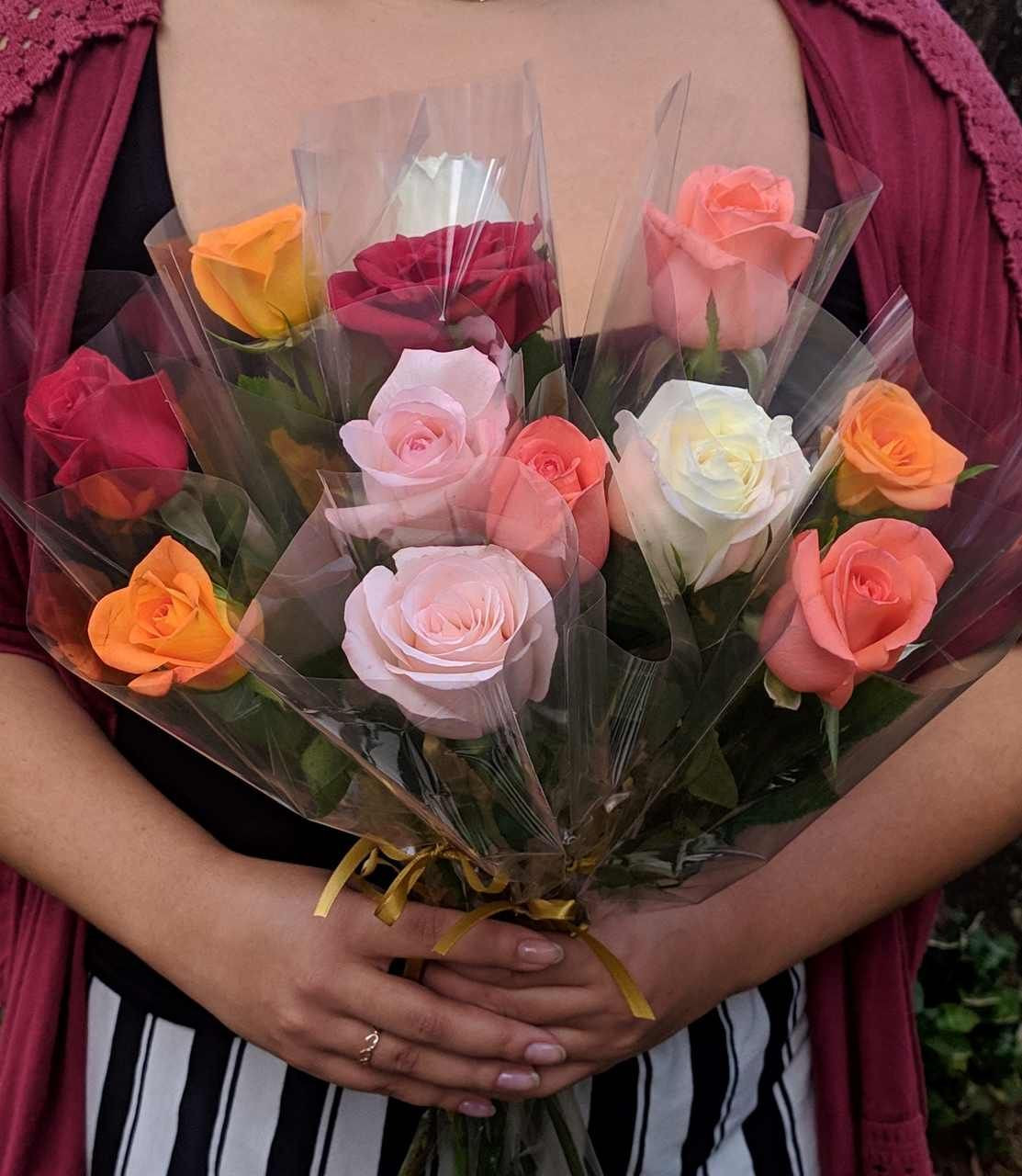 Combo 12 Rosas unidades - Dia das mulheres