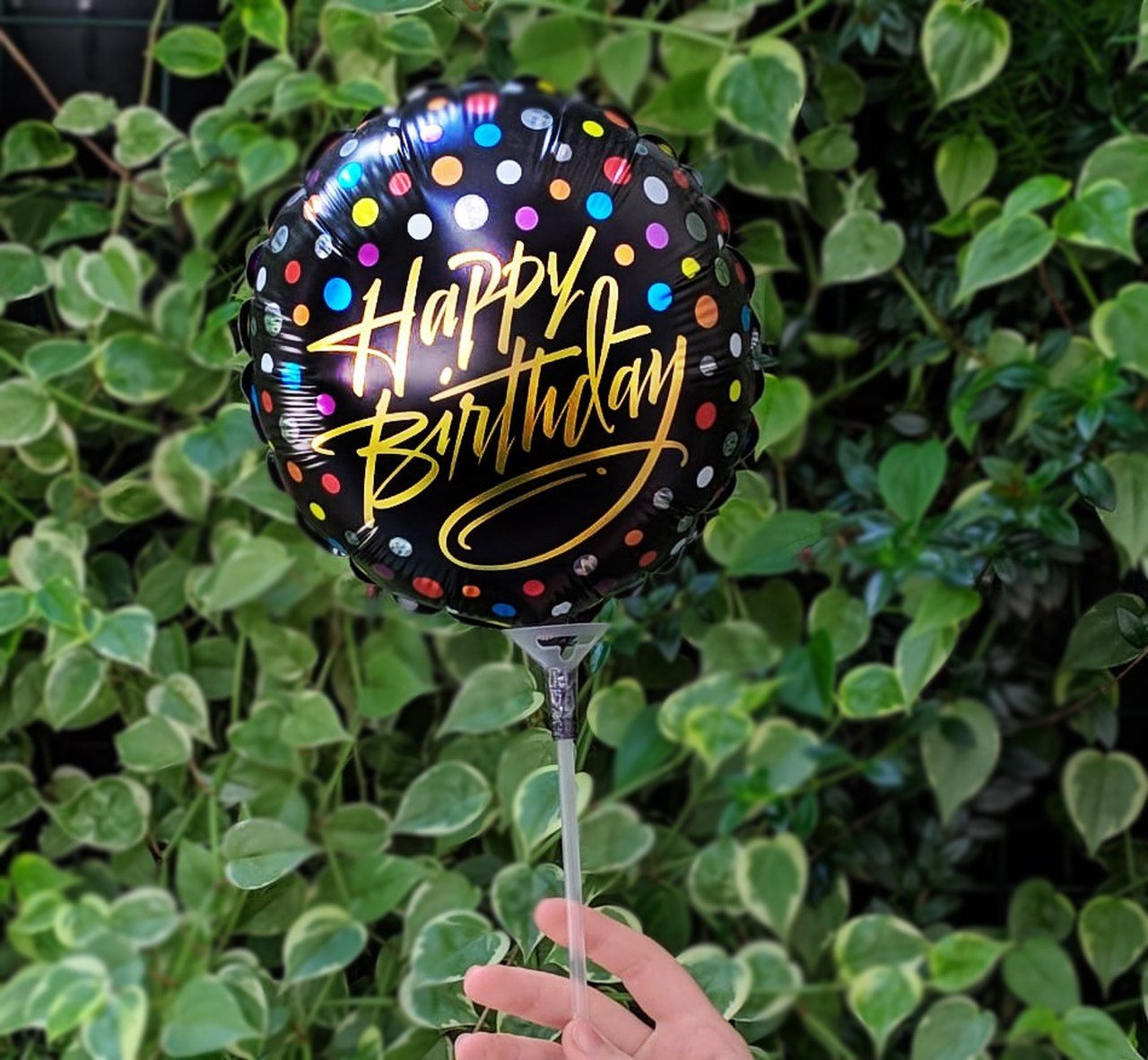 Balão M - Happy Birthday