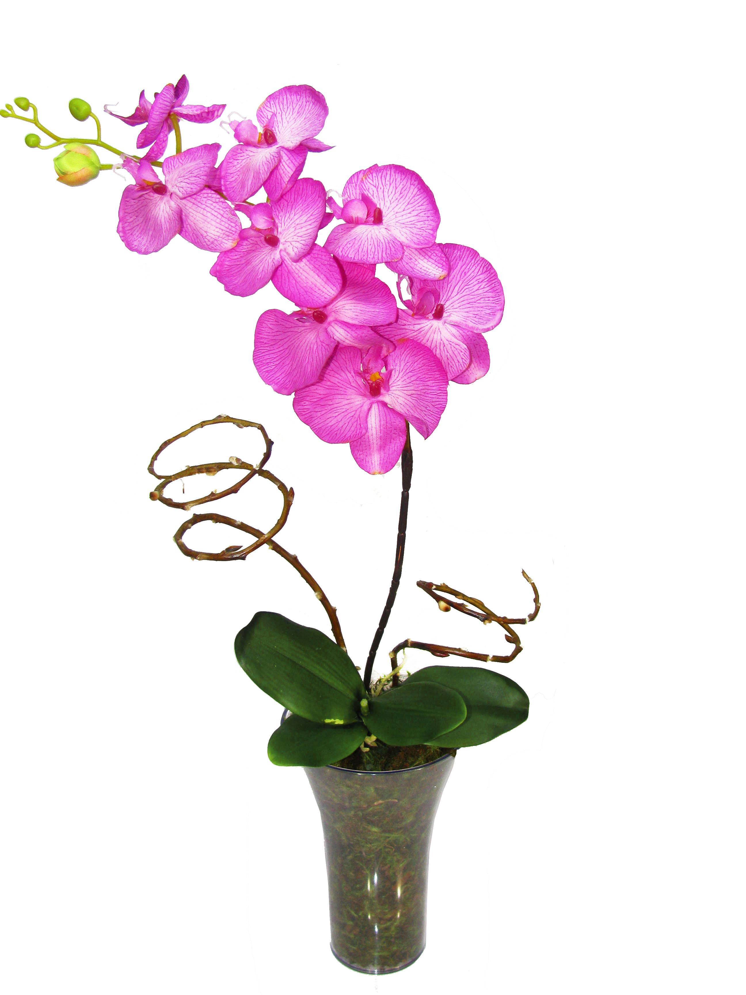 Orquídea Lilás artificial