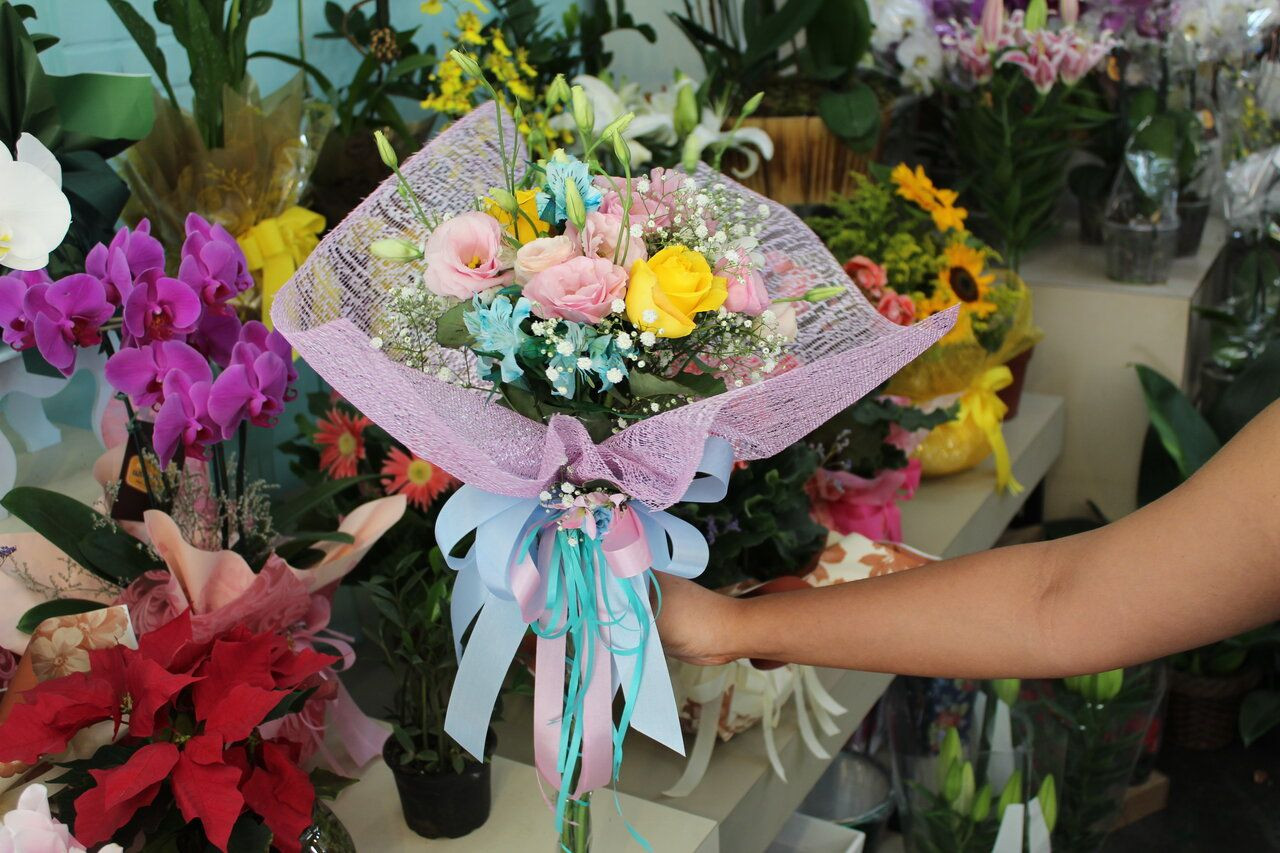 Buquê flores nobres - Buque Unicórnio
