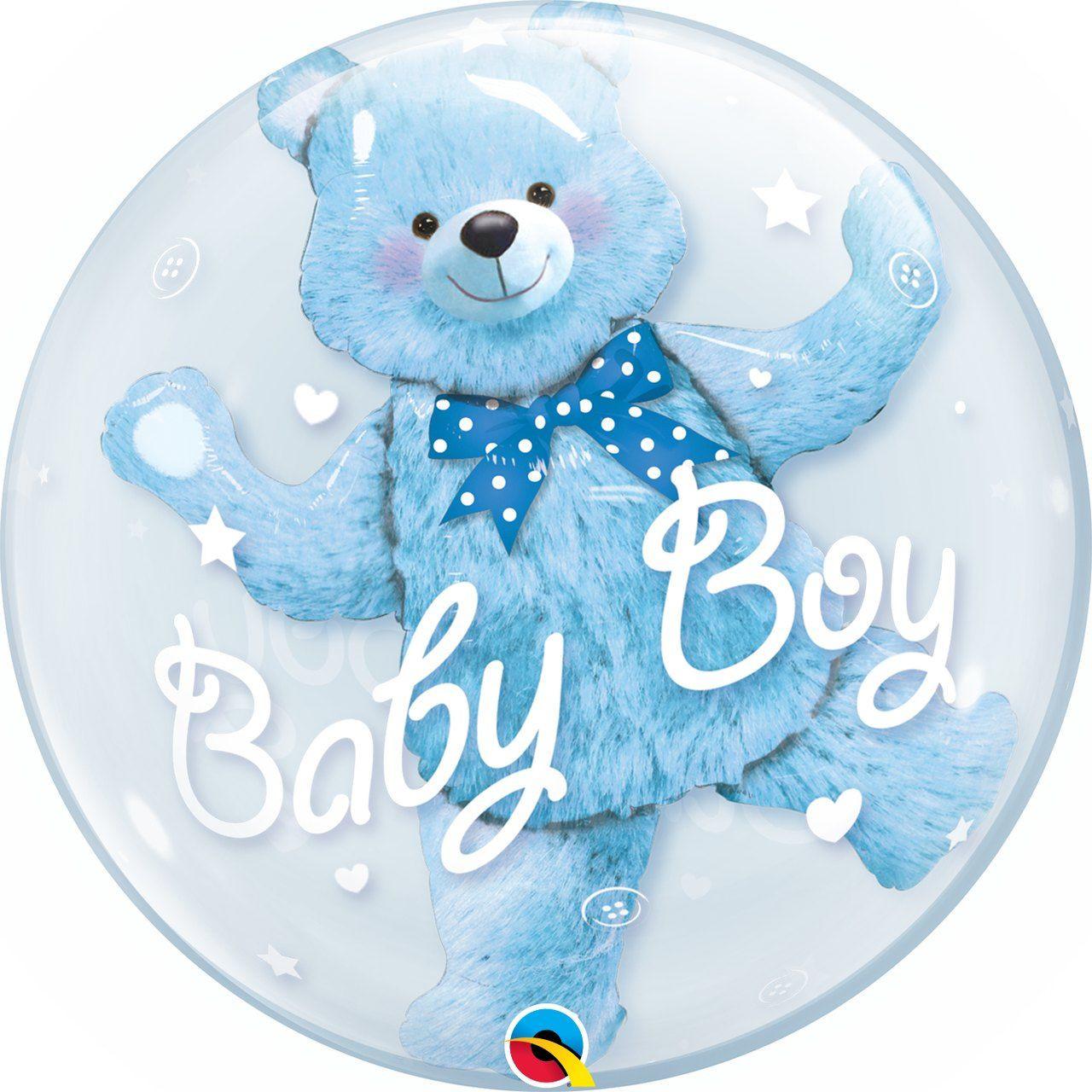 Balão Double bubble Baby Boy GG