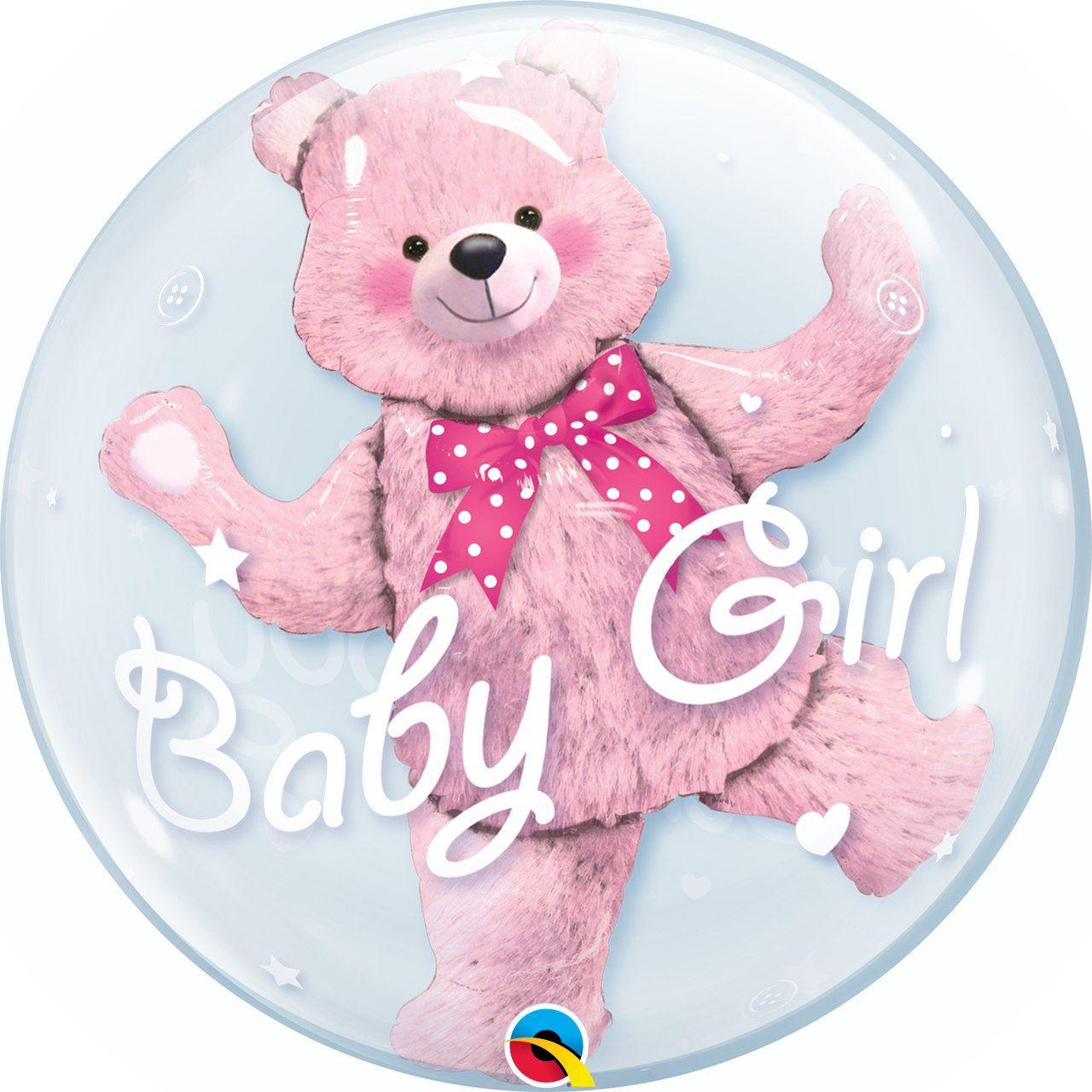 Balão Double bubble Baby Girl GG