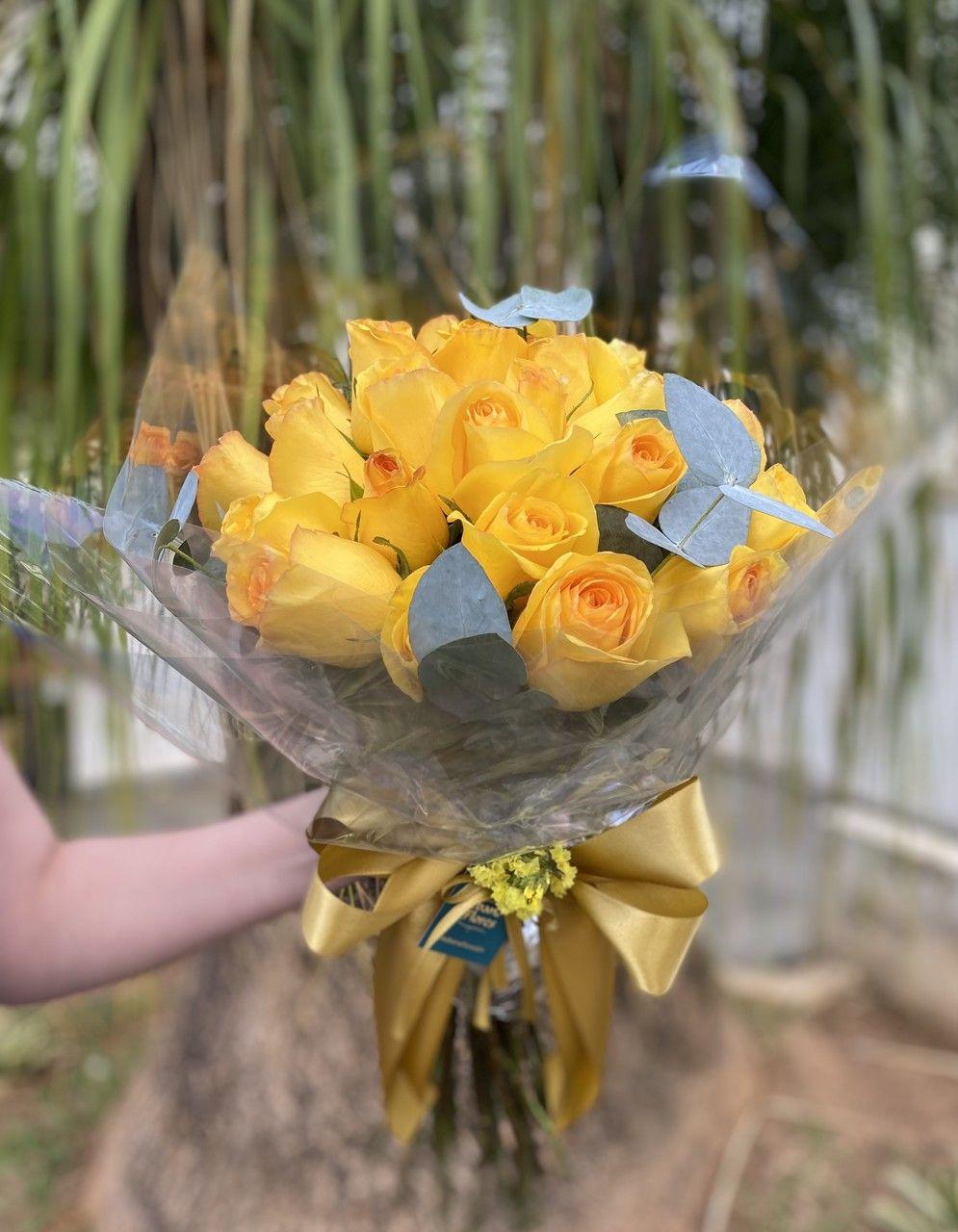 Buquê de rosas amarelas para entrega - Flores BH