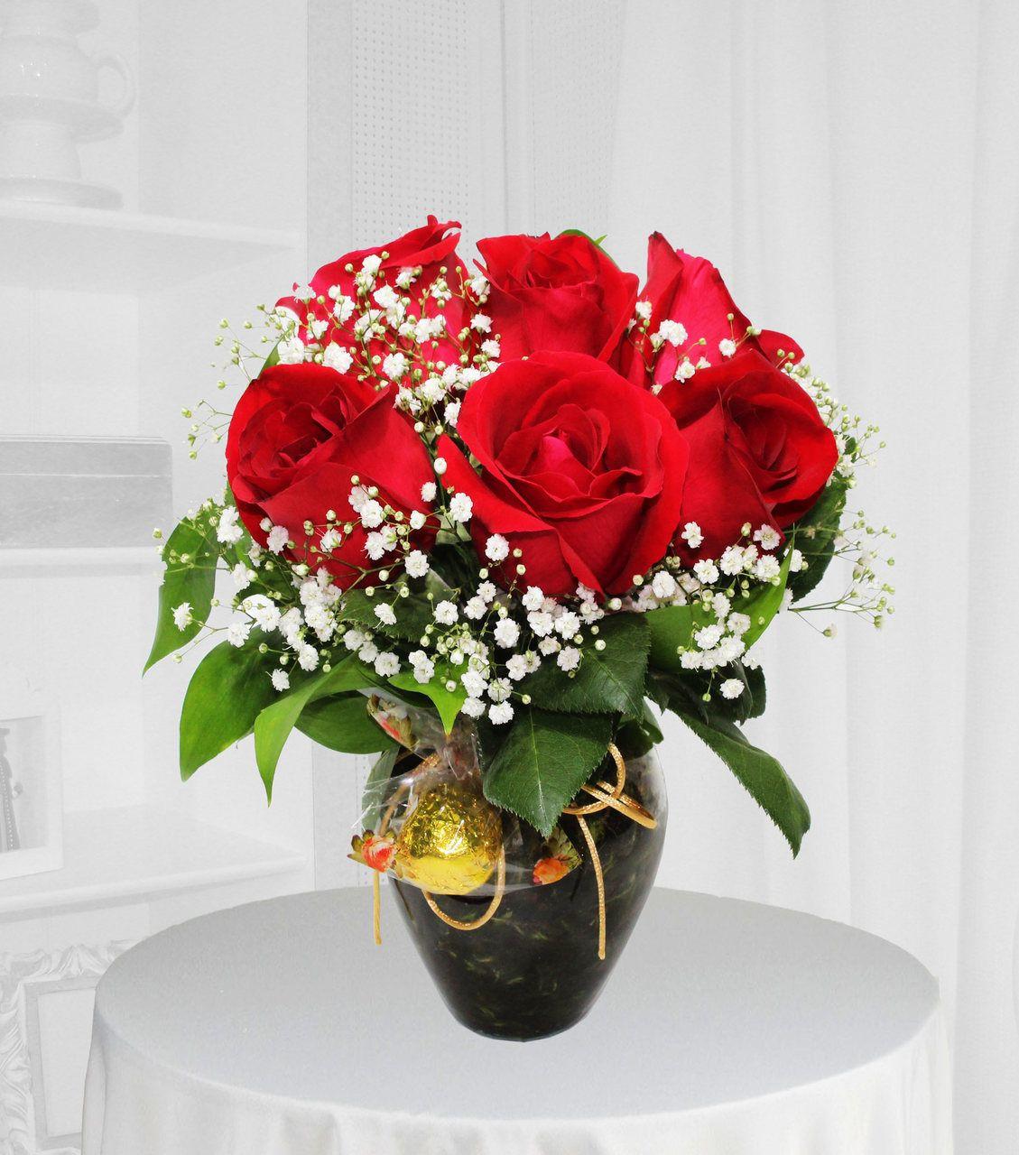 rosas vermelhas BH