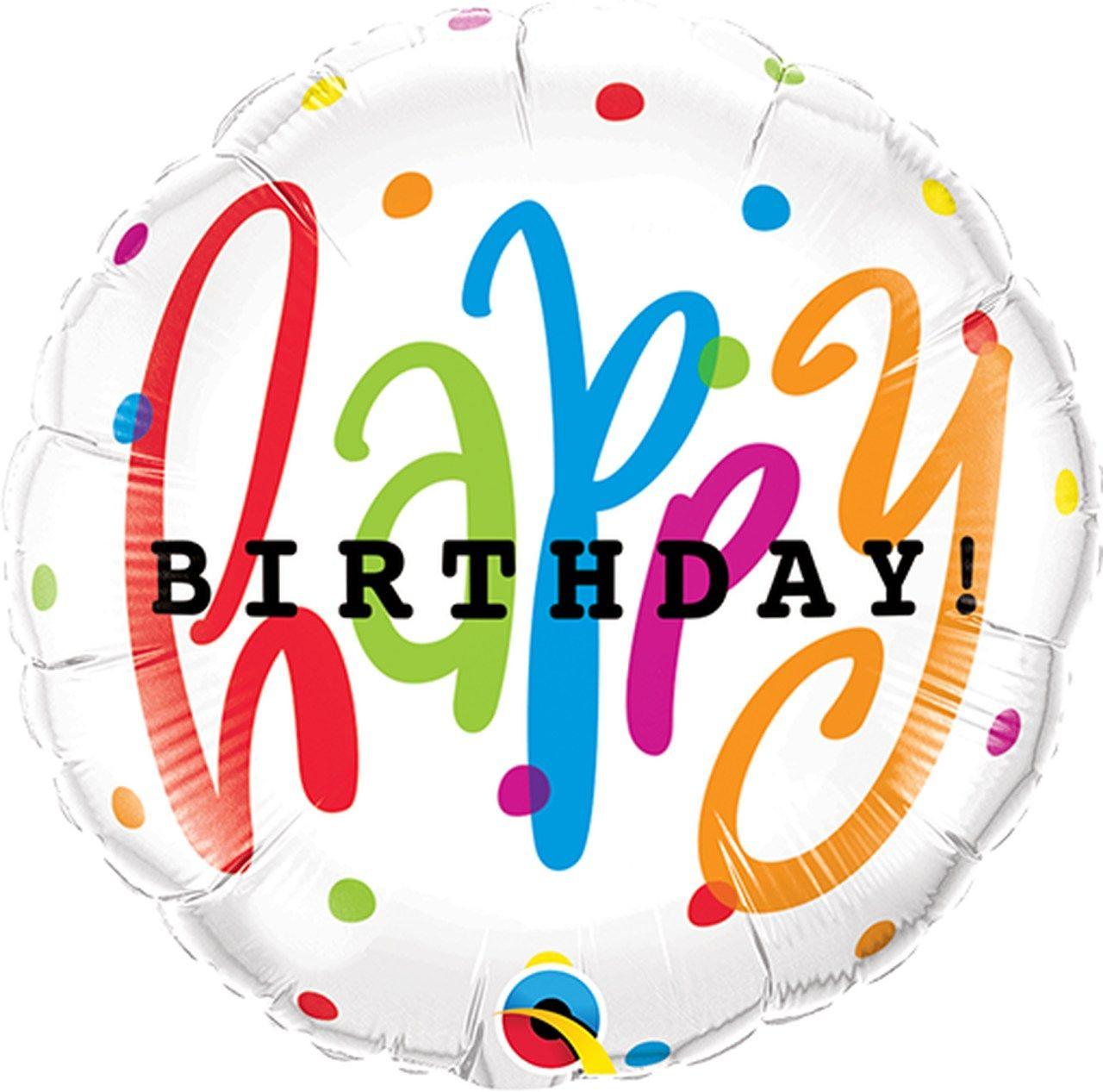 Balão Happy Birthday - M