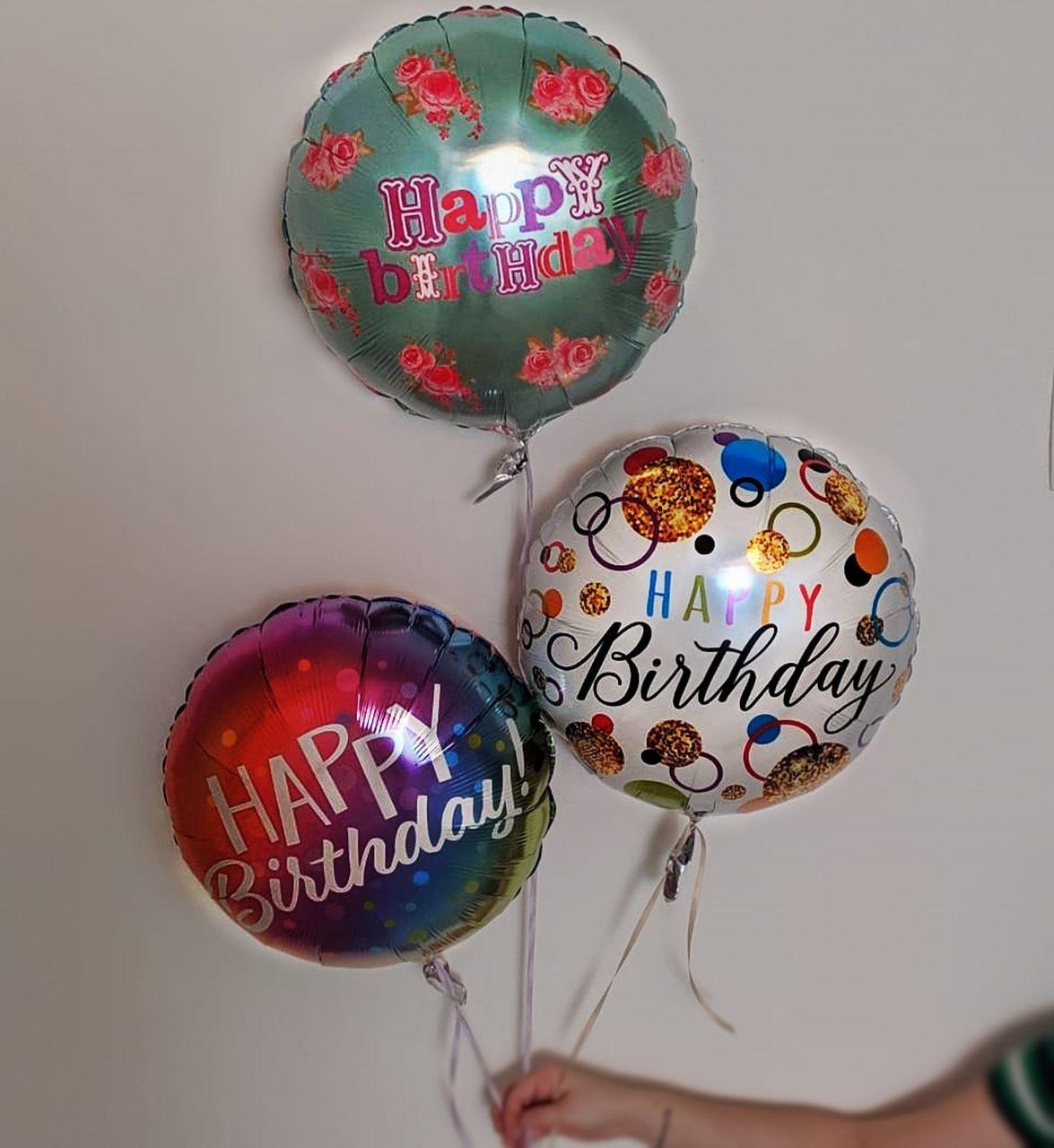 Buquê Balão - Feliz aniversário