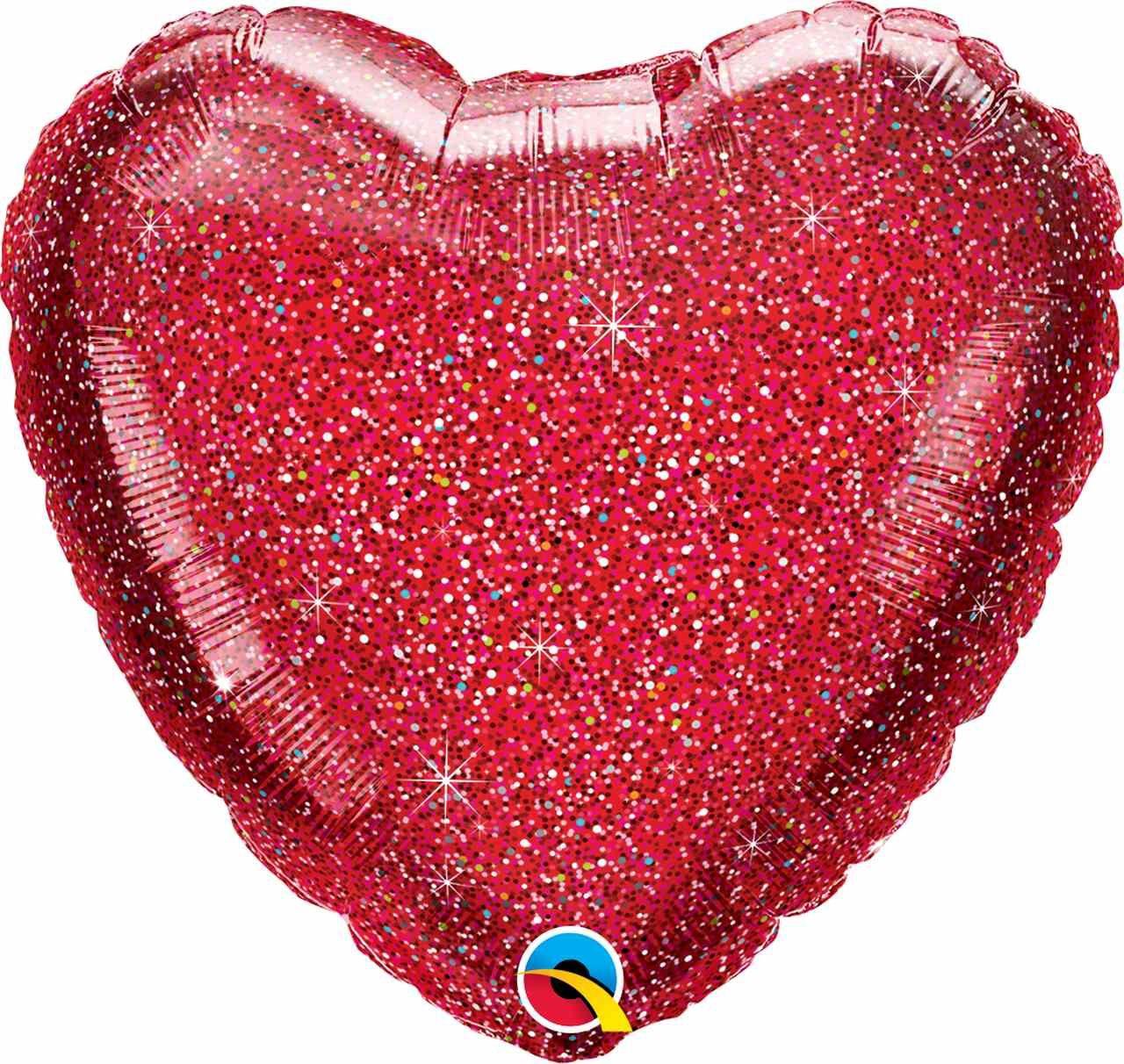 Balão Coração Gás hélio - Complementos