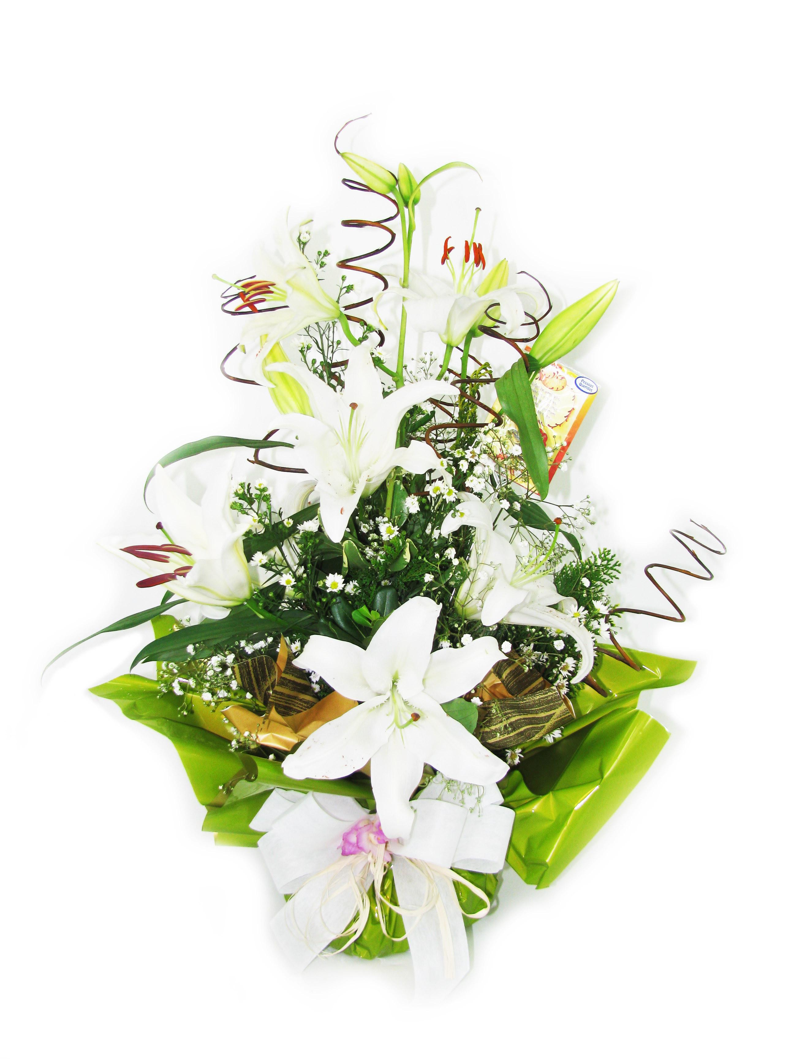 Arranjo Flor Lírio Branco