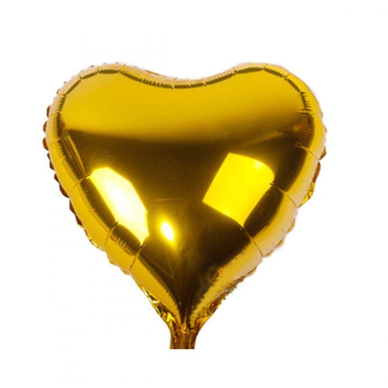Balão Gás Hélio Gold - Complemento