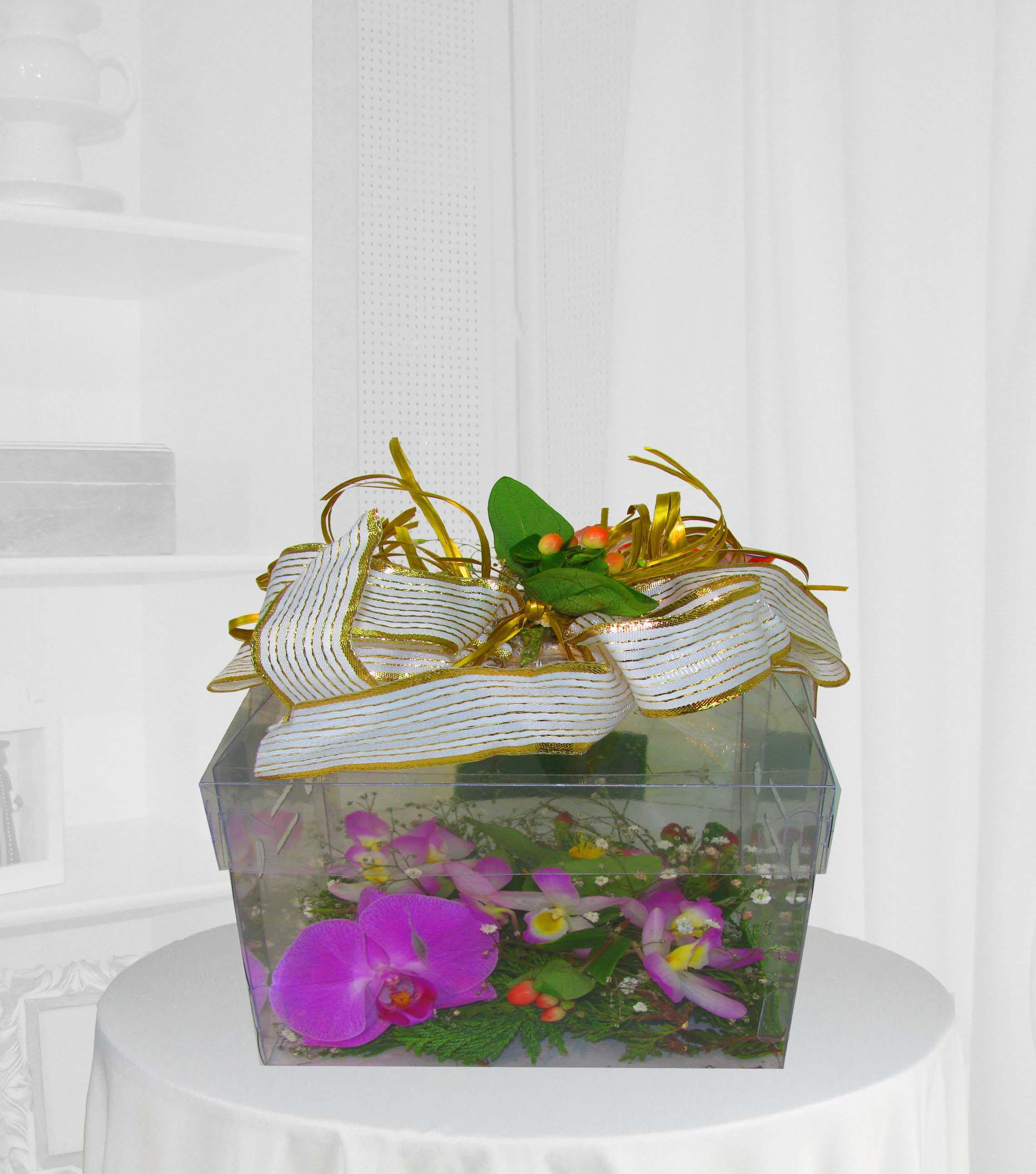 Caixa de Orquídeas