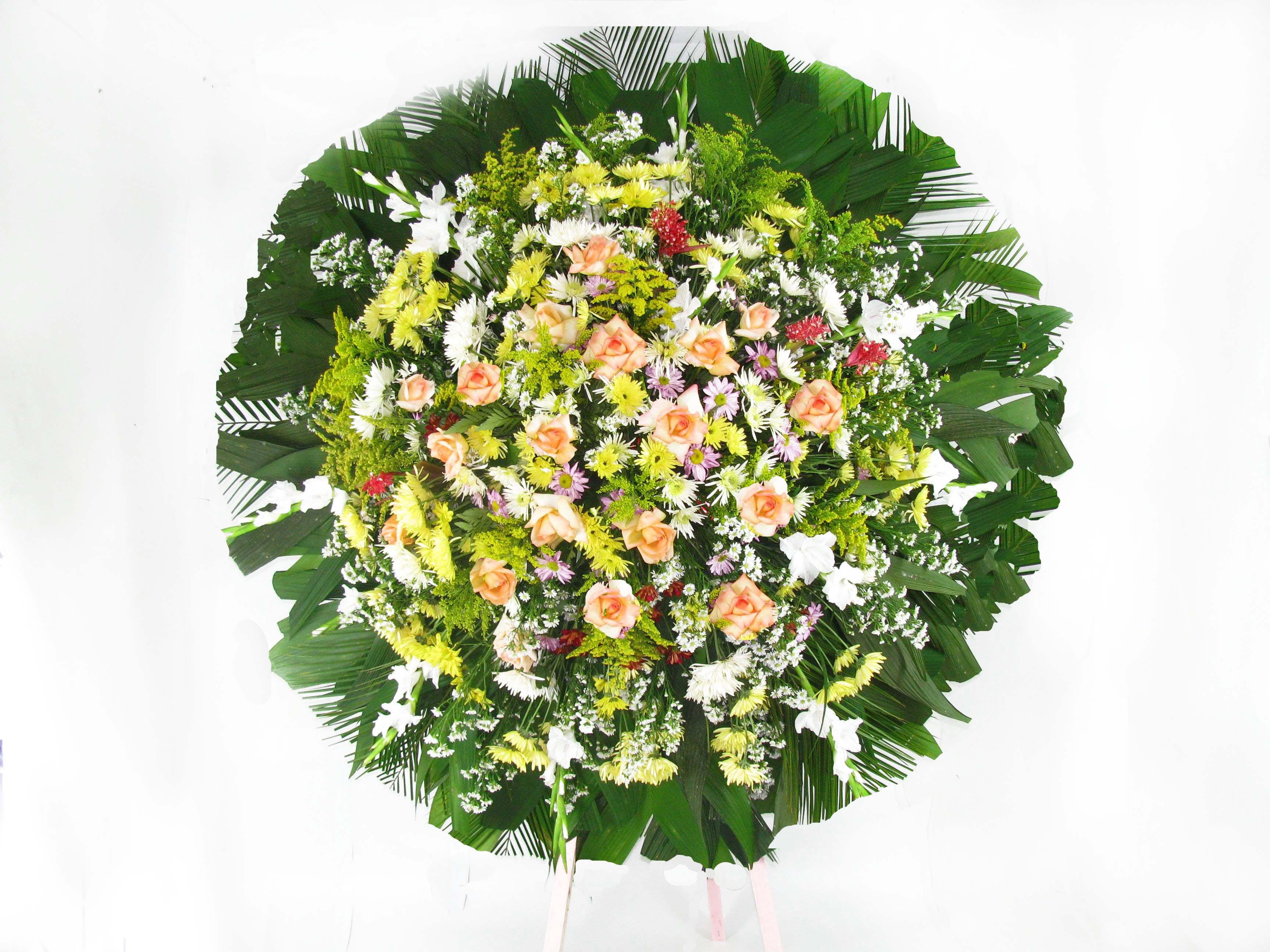 como fazer montar coroas de flores BH