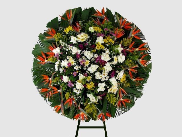 Coroa de flores personal