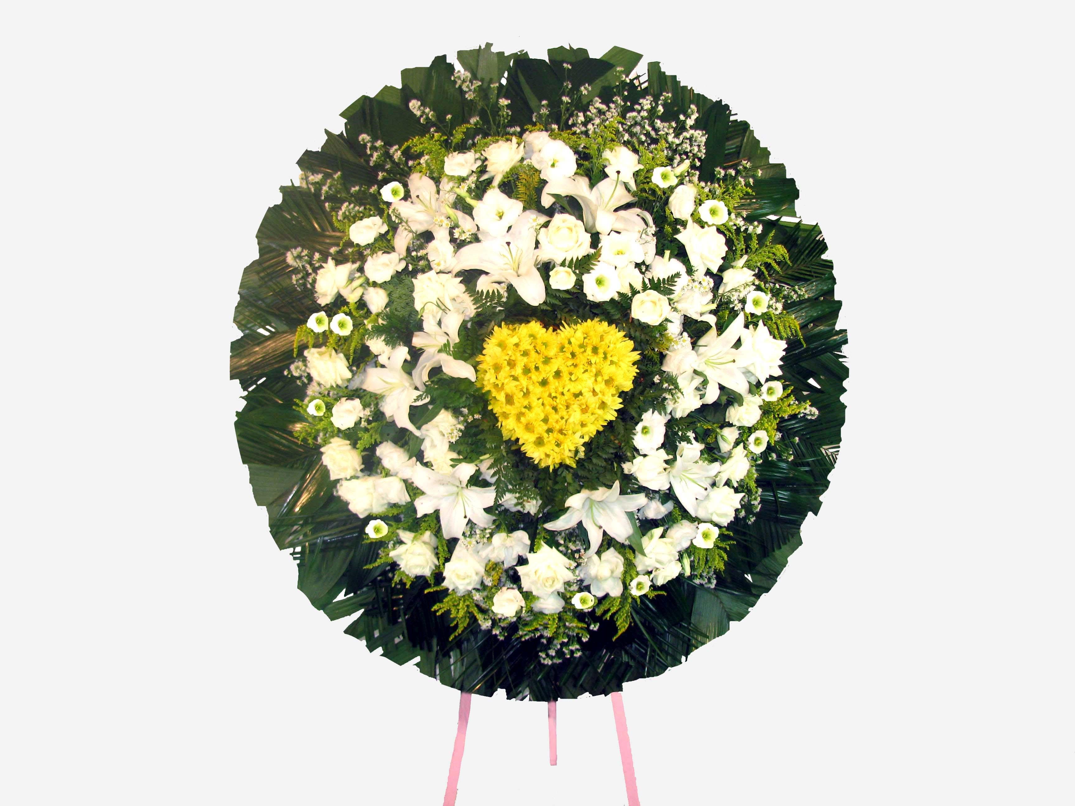Coroas de Flores Personalizadas