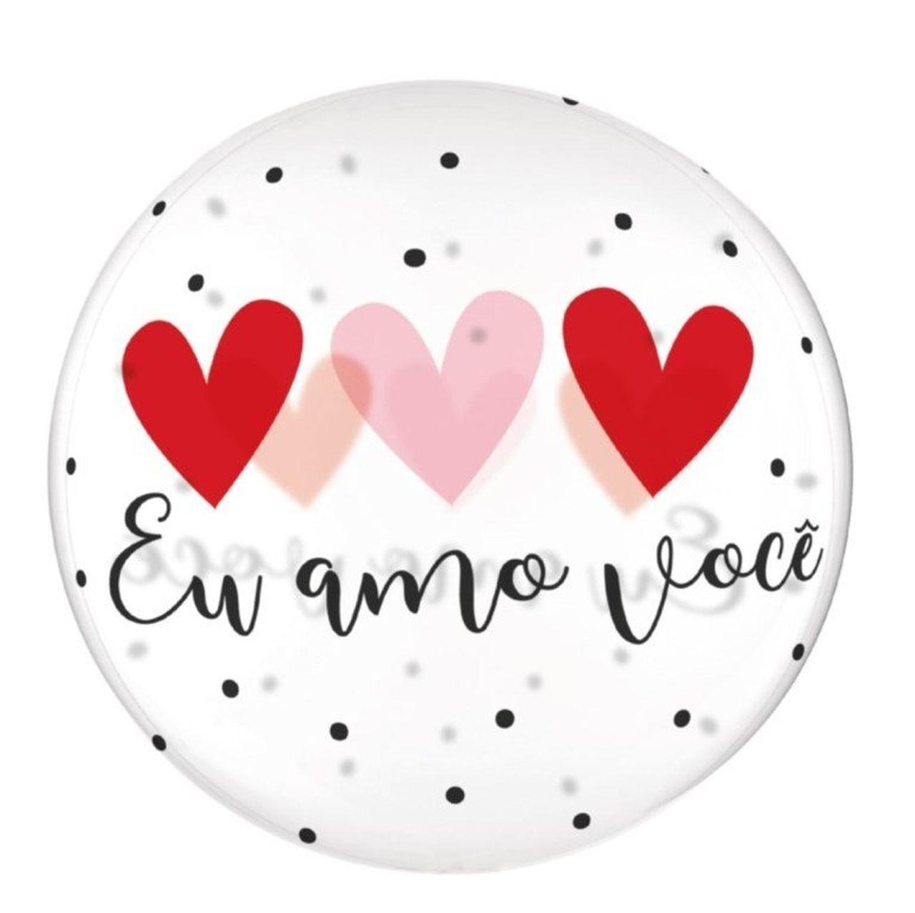 Balão eu amo você M - Complementos