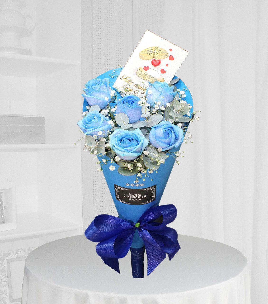 ramalhete azul flores BH
