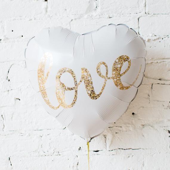 Balão LOVE gás hélio