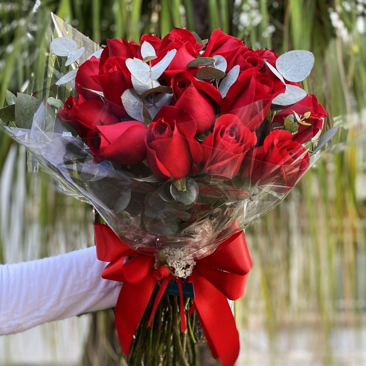 Ramalhete de 20 rosas vermelhas