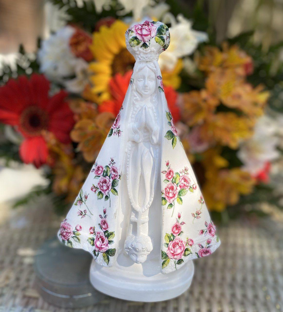 Nossa Sra. Aparecida - Rosa - Complementos