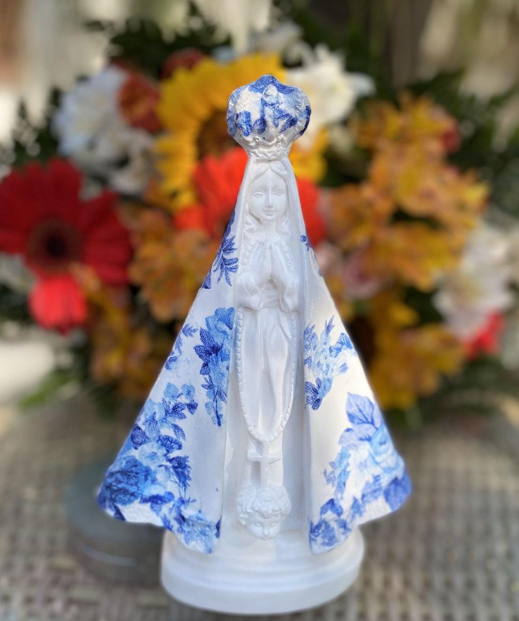 Nossa Sra. Aparecida - Azul - Complementos