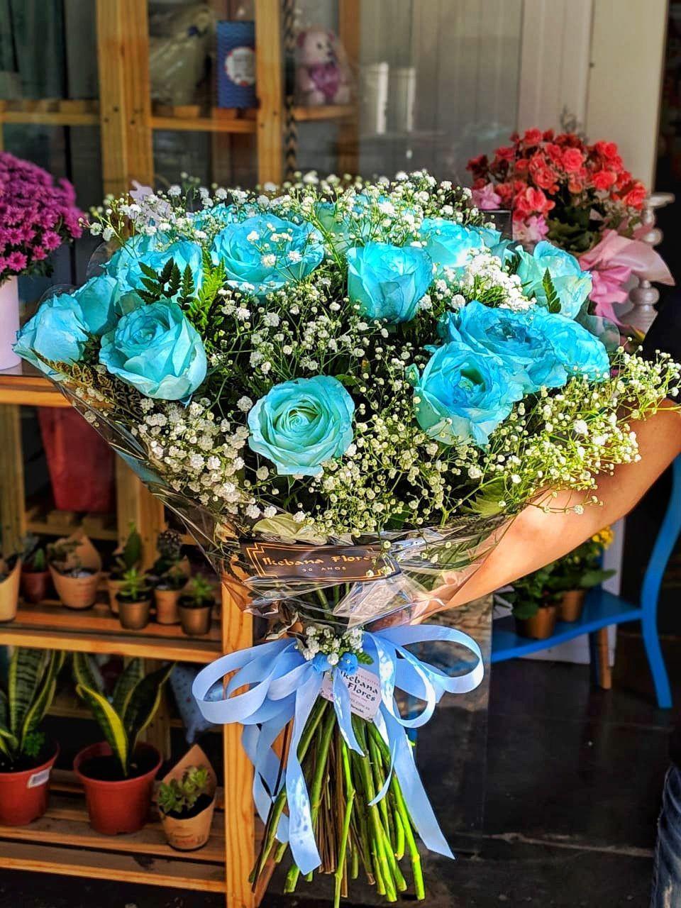 Buquê Rosas Tiffany