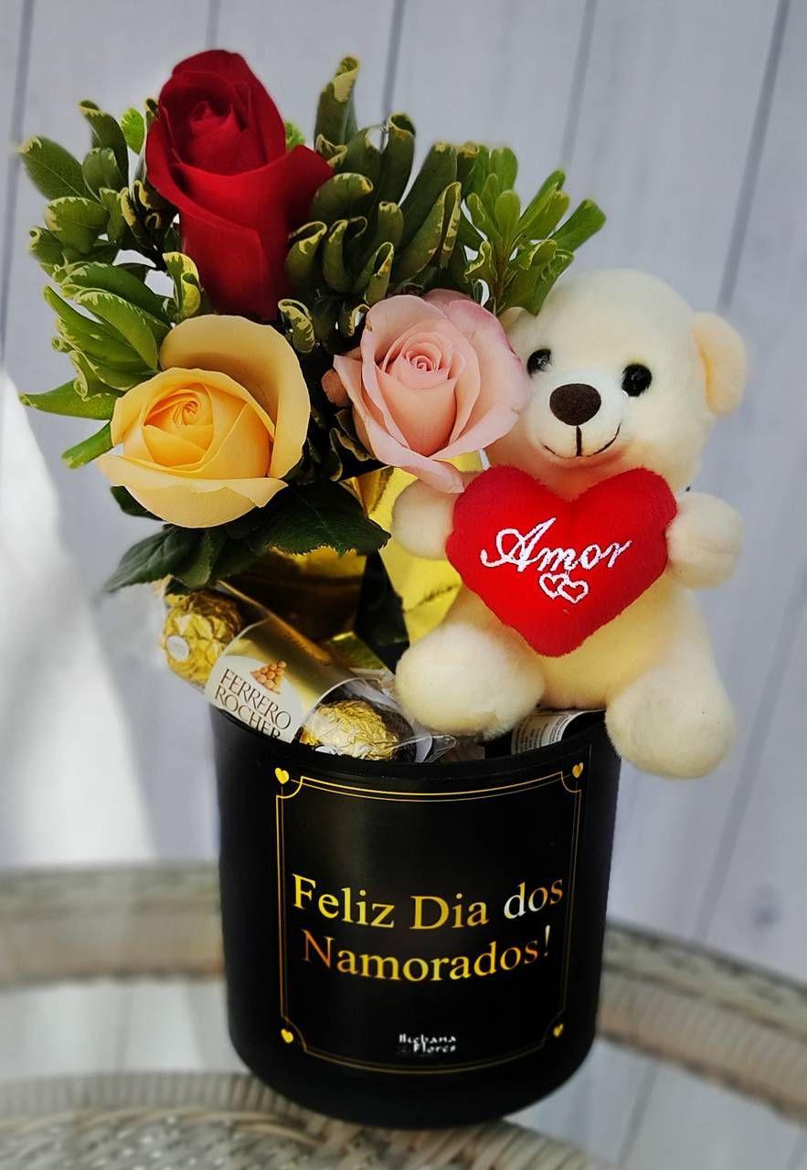 Box Love com Ursinho