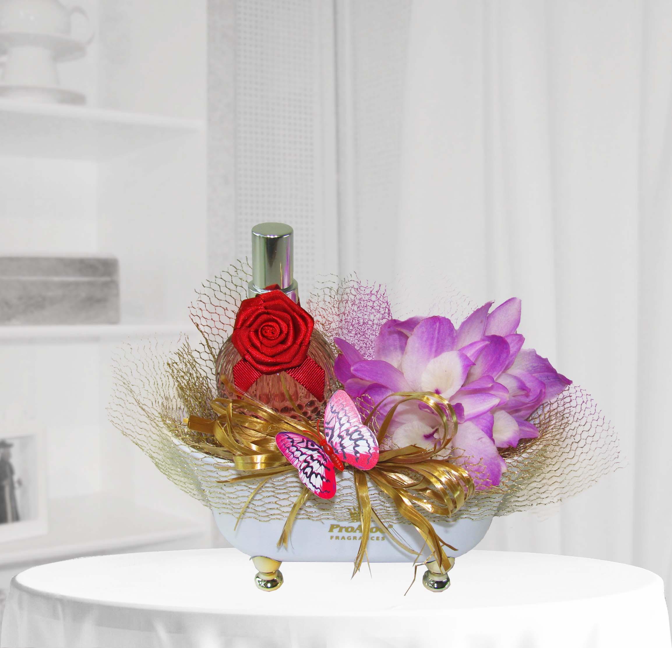 Banheira Aromatizador Orquídeas