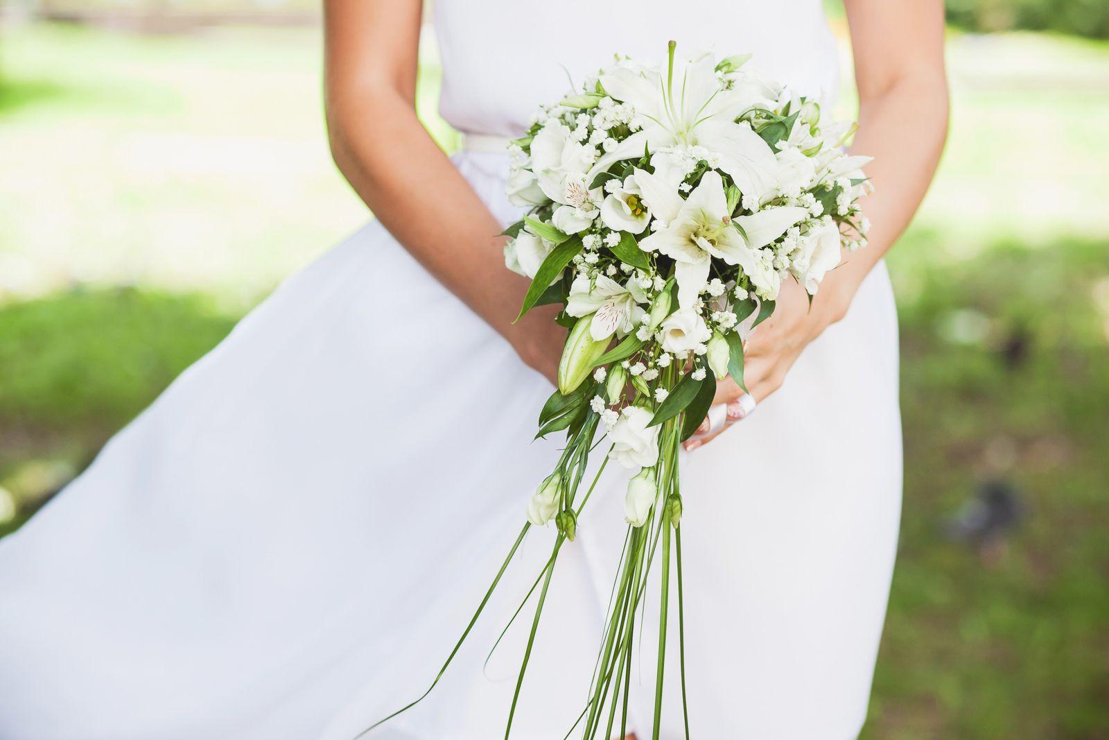 Buquê de noiva Cascata Lírios
