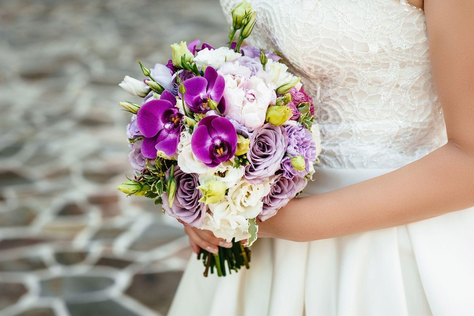 Buquê noiva de orquídeas